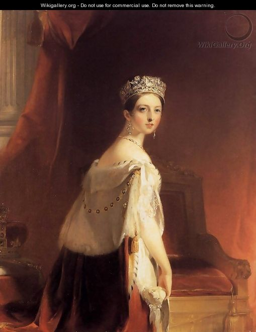 Queen Victoria 1838 - Thomas Sully