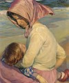 Mother and Child (Madre e hija) - Jose Mongrell