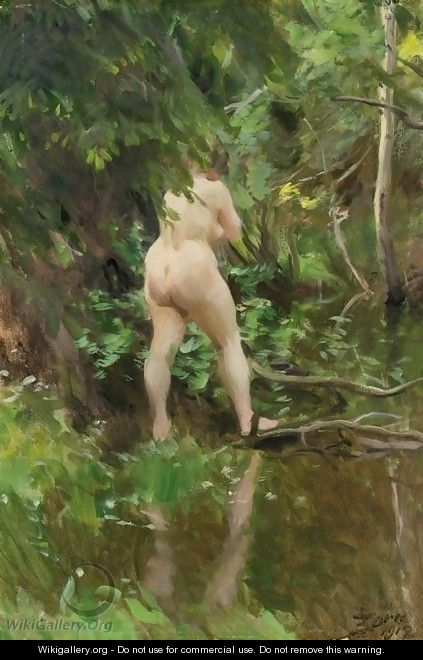 Flood (Oversvamning) - Anders Zorn