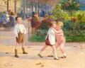 Children in a Park (Enfants au parc) - Victor-Gabriel Gilbert
