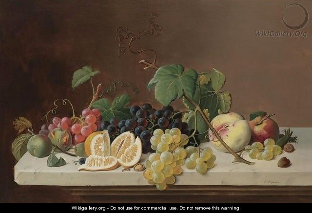 Still Life with Fruit 2 - Severin Roesen