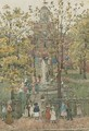 West Church, Boston I - Maurice Brazil Prendergast