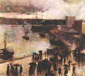 Departure of the 'Orient', Circular Quay - Charles Conder