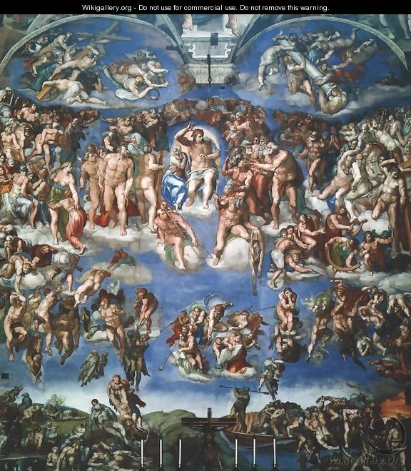 Last Judgment - Michelangelo Buonarroti