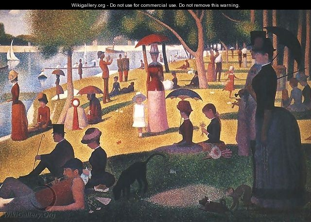 Sunday on La Grande Jatte - Georges Seurat
