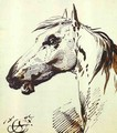 Head of a Horse - Aleksander Orlowski