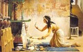 The obsequies of an Egyptian cat - John Reinhard Weguelin
