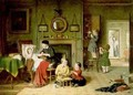 Playing a Doctor - Frederick Daniel Hardy