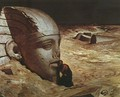 Listening to the Sphinx - Elihu Vedder