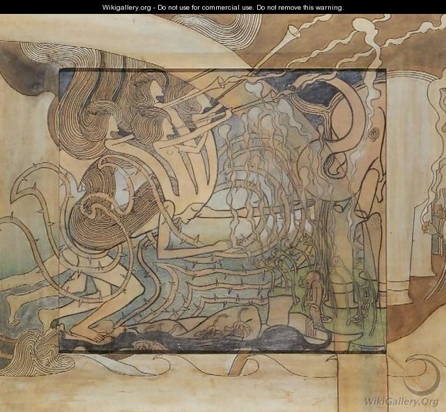 Rise, with opposition, of modern art - Jan Toorop