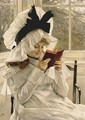 Reading a Book - James Jacques Joseph Tissot