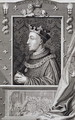 Henry V 1387-1422, after a painting in Kensington Palace - George Vertue