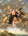 The Ascension of the Virgin - Daniel Vertangen