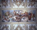 The Gods on Olympus, ceiling painting - Antonio Maria Viani