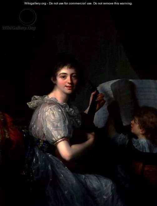 Allegory of Music, 1788 - Antoine Vestier
