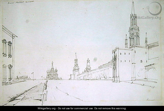 Moscow, 1827 2 - Alfred Gomersal Vickers