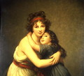 Madame Vigee-Lebrun and her Daughter, Jeanne-Lucie-Louise 1780-1819 1789 - Elisabeth Vigee-Lebrun