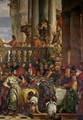 The Marriage Feast at Cana, detail of the right hand side, c.1562 - Paolo Veronese (Caliari)