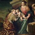The Mystic Marriage of St. Catherine of Alexandria - Paolo Veronese (Caliari)
