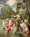 The Baptism of Christ, c.1580-88 - Paolo Veronese (Caliari)
