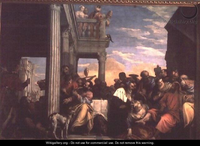 Christ at Dinner in the House of Simon the Pharisee - Paolo Veronese (Caliari)