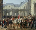 The Duke of Orleans Leaves the Palais-Royal and Goes to the Hotel de Ville on 31st July 1830, 1832 - Carle Vernet