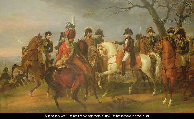 Napoleon 1769-1821 Giving Orders before the Battle of Austerlitz, 2nd December 1805, 1808 - Carle Vernet