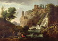 The Falls of Tivoli - Claude-joseph Vernet