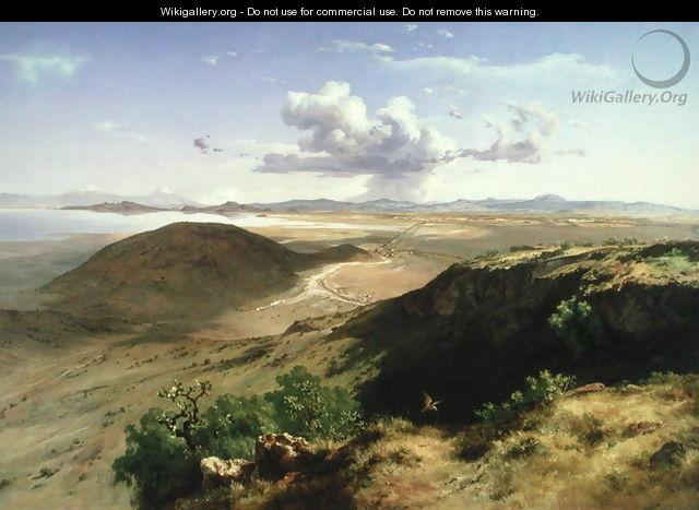 The Valley of Mexico, 1877 - Jose Maria Velasco