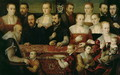 Portrait of a Large Family - (attr. to) Vecellio, Cesare
