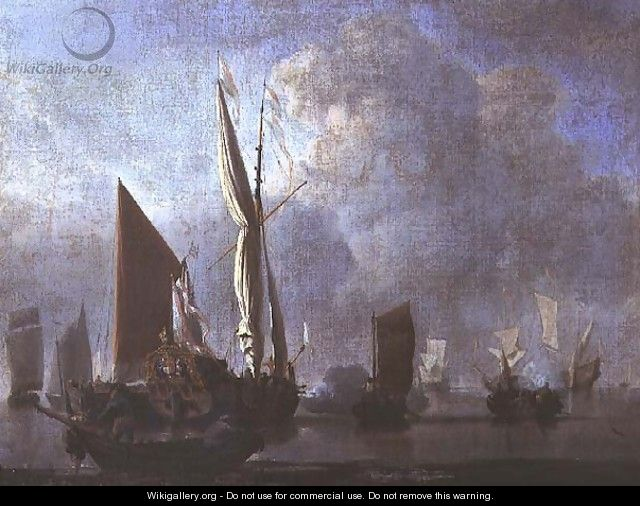 Naval Battle 2 - Willem van de, the Younger Velde