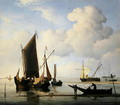 Calm Fishing Boats at low water, c.1660 - Willem van de, the Younger Velde