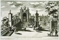 Fountain of Venus, Villa Frascati, Tusculano, from Le Fontane by Giovanni Battista Falda c.1648-78, c.1675, published by 1687 - Giovanni Francesco Venturini