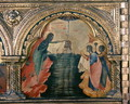 The Baptism of Christ, panel from the left side of a polyptych from the Church of Santa Chiara, c.1350 - Paolo Veneziano
