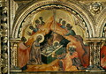 The Adoration of the Magi, panel from the left side of a polyptych from the Church of Santa Chiara, c.1350 - Paolo Veneziano