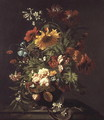 Vase of Flowers - Simon Pietersz. Verelst