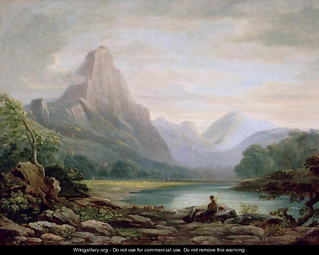 A Welsh Valley, 1819 - John Varley
