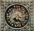 Apotheosis of Cosimo I de' Medici (1519-74) from the ceiling of the Salone dei Cinquecento, 1565 - Giorgio Vasari