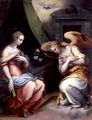 The Annunciation - Giorgio Vasari