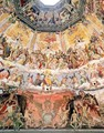The Last Judgement, detail from the cupola of the Duomo, 1572-79 - Giorgio Vasari