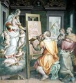 St. Luke Painting the Virgin - Giorgio Vasari
