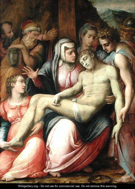 The Deposition, c.1540 - Giorgio Vasari