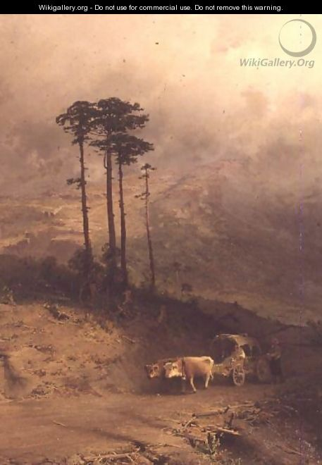 In the Crimean Mountains, 1873 - Fedor Aleksandrovich Vasiliev