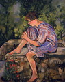 Seated Young Woman, 1930 - Suzanne Valadon
