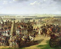 The French Army Pulling Down the Rosbach Column, 18th October 1806, 1810 - Pierre-Auguste Vafflard