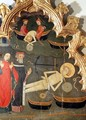 Detail of the Miraculous Recovery of the Saint, from the St. Vincent Altarpiece - Pere Vall