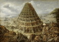 The Building of the Tower of Babel, 1595 - Marten Van Valckenborch I