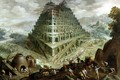 The Building of the Tower of Babel - Marten Van Valckenborch I