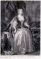 Portrait of Queen Caroline, 1736, engraved by John Faber (1684-1656) 1739 - John Vanderbank