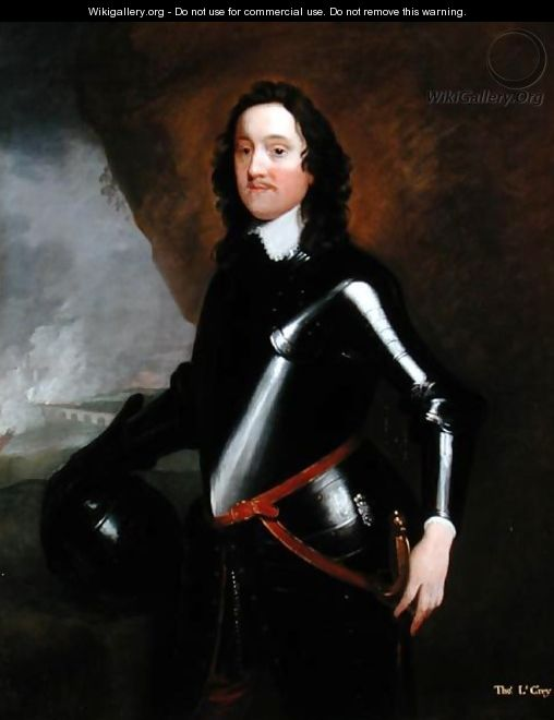 Portrait of Lord Thomas Grey (1623-57) of Groby - John Michael Wright